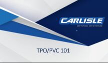 Applicator Training Webinars: TPO/PVC 101