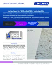 Sure-Flex PVC with APEEL Protective Film Sell Sheet