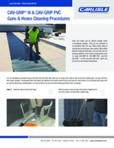 CAV-GRIP Guns & Hoses Cleaning Procedures