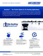Re-Roofing Redefined: VacuSeal Sell Sheet