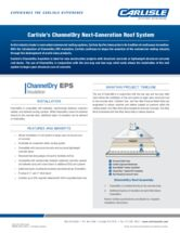 ChannelDry EPS Insulation Sell Sheet